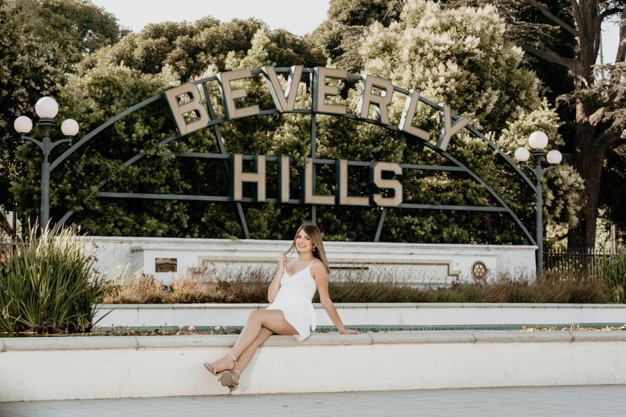Senior Dream Session in Beverly Hills