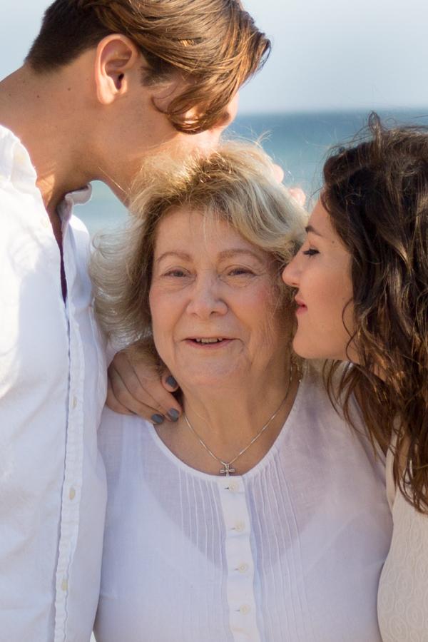 family, grandmother, grandkids