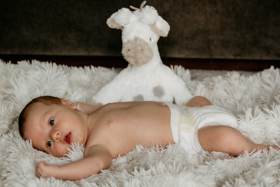 newborn, baby, baby and stuffed animal toy