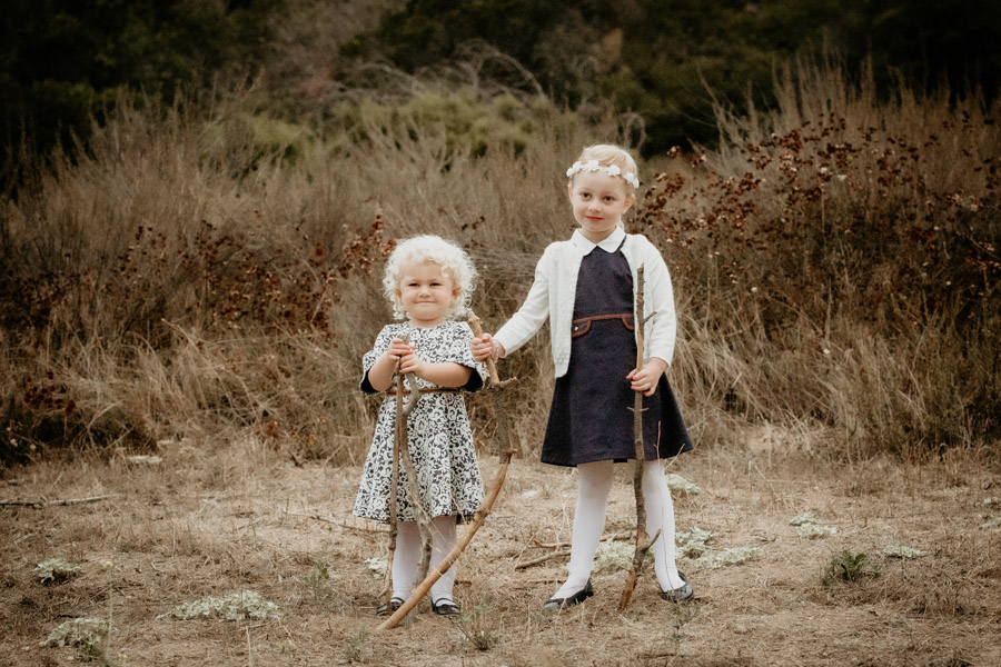 sisters, nature, siblings, fall, portraits, family, children, kids