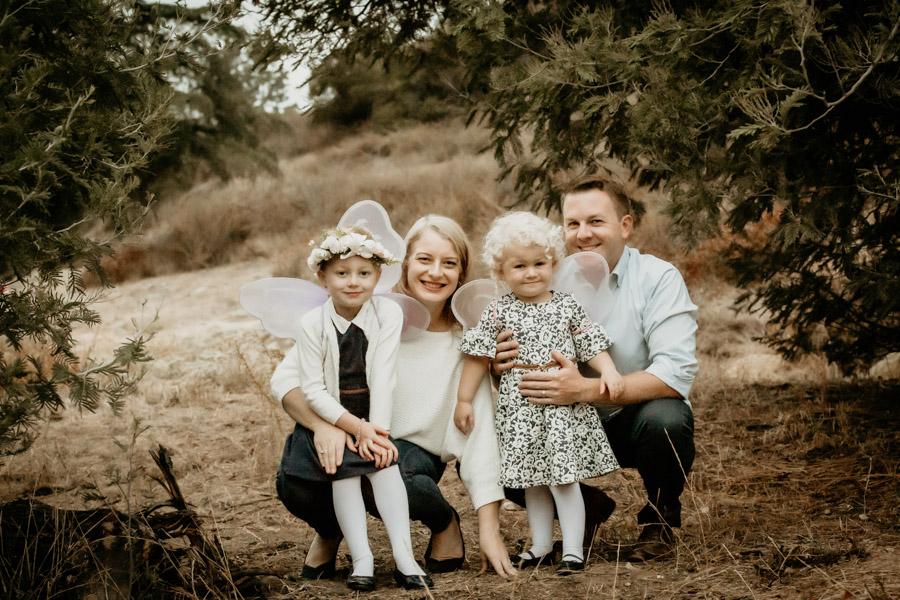 family, portraits, fall,