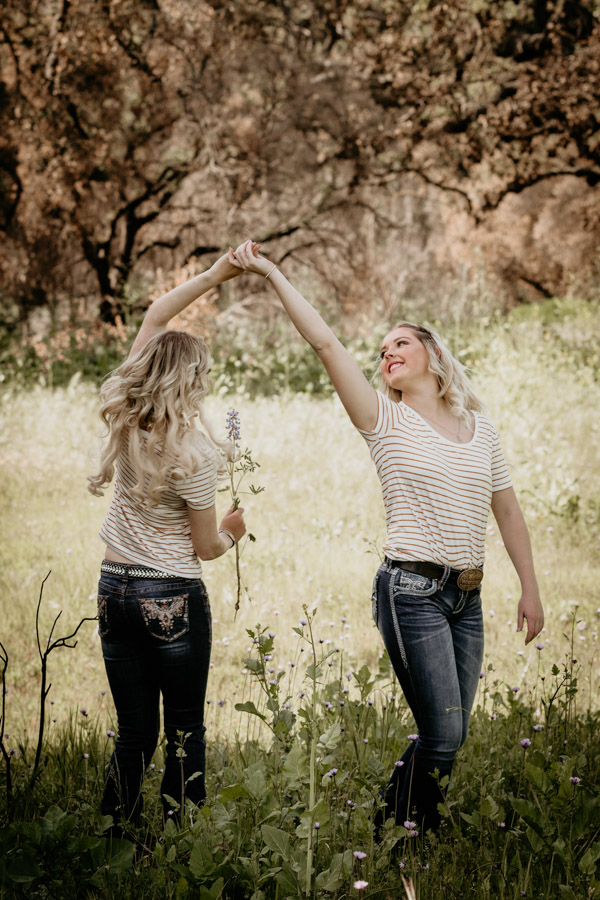 senior session, twins