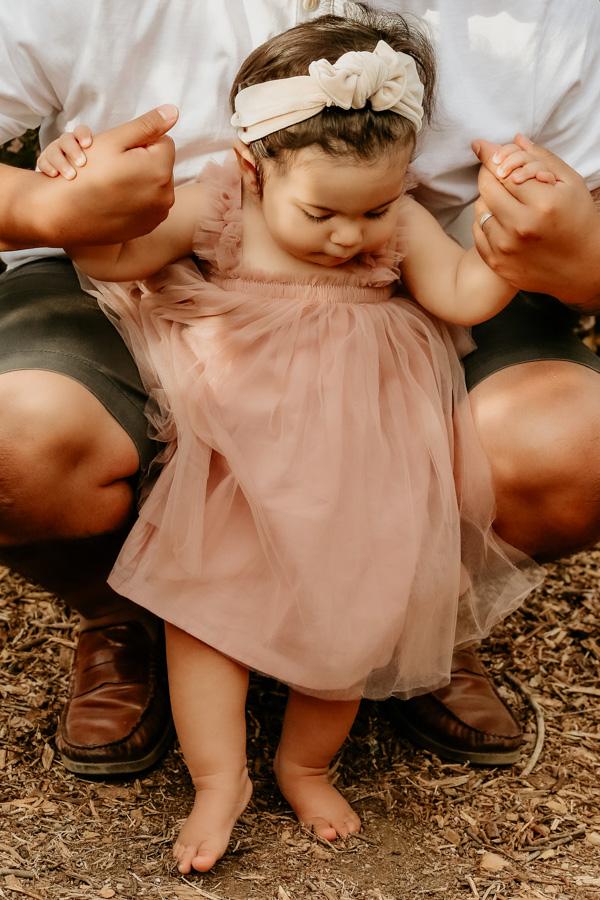family portraits, baby girl