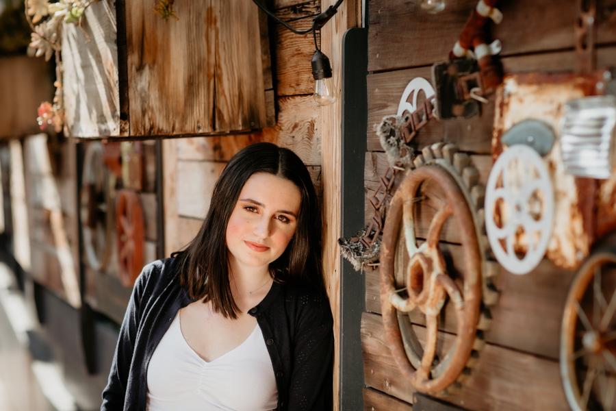 senior portraits, teen girl