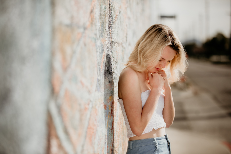 senior portraits, teen girl, senior model team